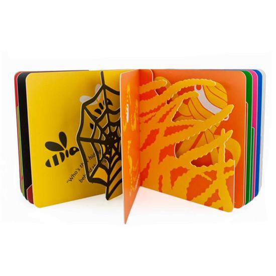 儿童精装纸板书、立体书、玩具书印刷定制 CZ-BK002