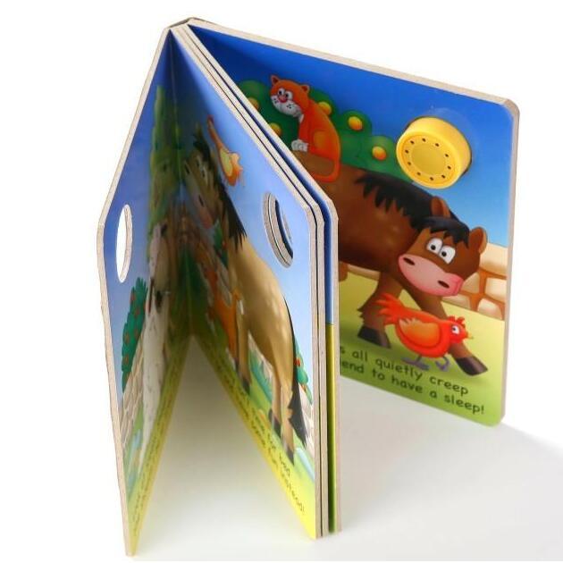 童书精装绘本纸板书印刷 CZ-CB002