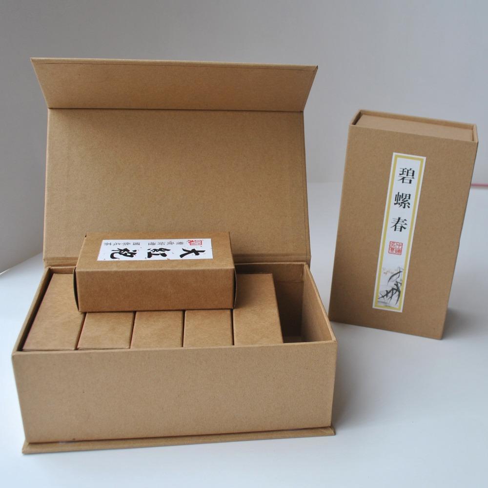牛皮纸茶叶包装盒  CZ-TB008