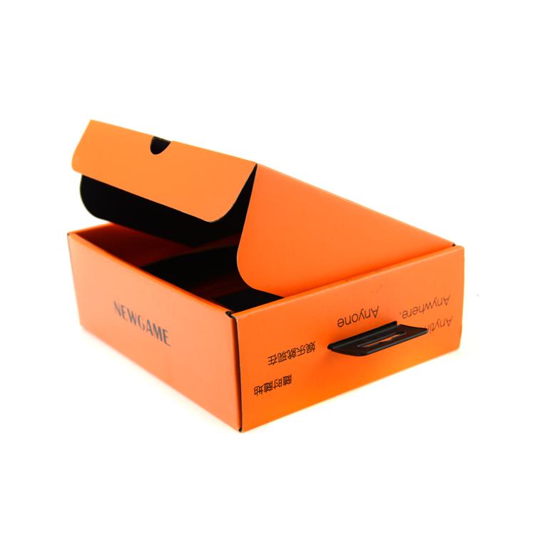 折叠飞机盒彩坑包装 手机数码电子配件包装盒 CZ-E016