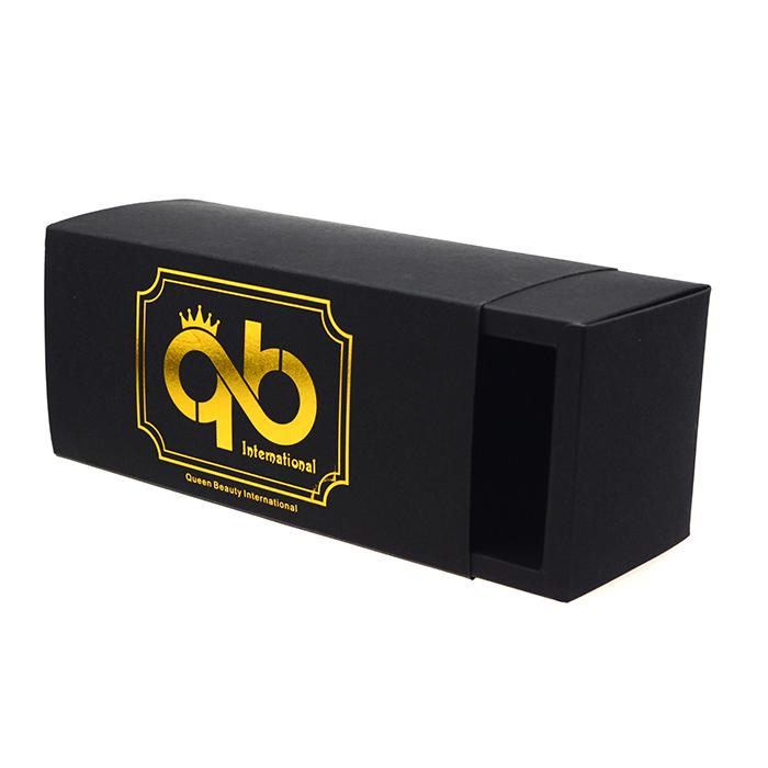 黑卡纸烫金彩盒包装 CZ-O006