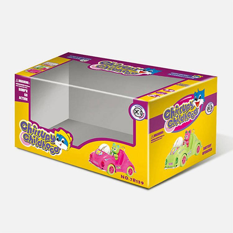 带吸塑开窗玩具包装盒 CZ-TO001